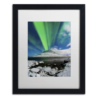 Michael Blanchette Photography 'Surfing' Matted Framed Art