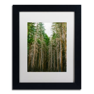 Ariane Moshayedi 'Tree Forest' Matted Framed Art
