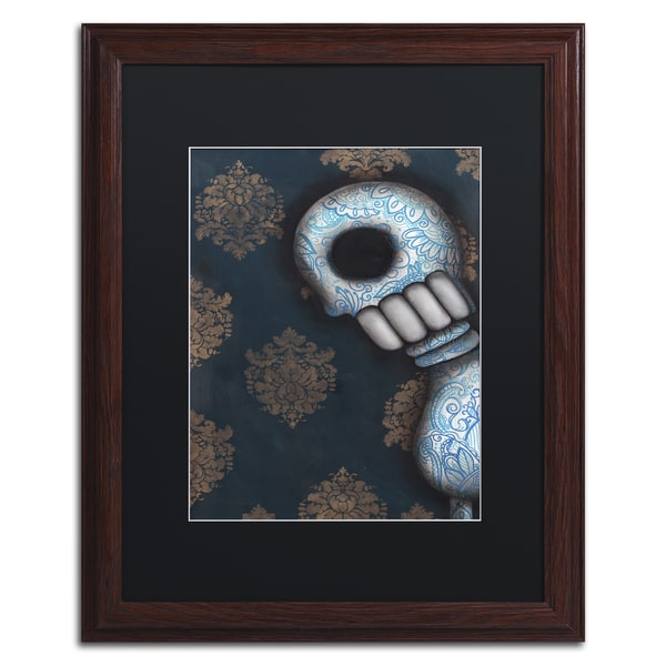 Michael Blanchette Photography 'Beneath the Surface' Ornate Framed Art