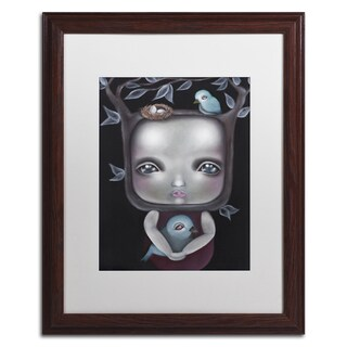 Abril Andrade 'Released' Matted Framed Art