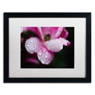 PIPA Fine Art 'Sandbars' Matted Framed Art - Pink