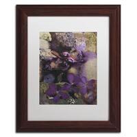 PIPA Fine Art 'Asiatic Dayflower' Matted Framed Art
