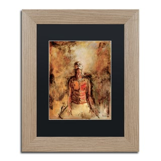 Joarez 'Totally Surrender' Matted Framed Art