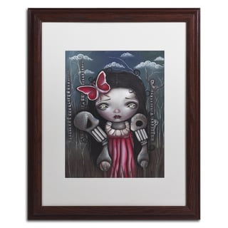 Abril Andrade 'Zofia' Matted Framed Art