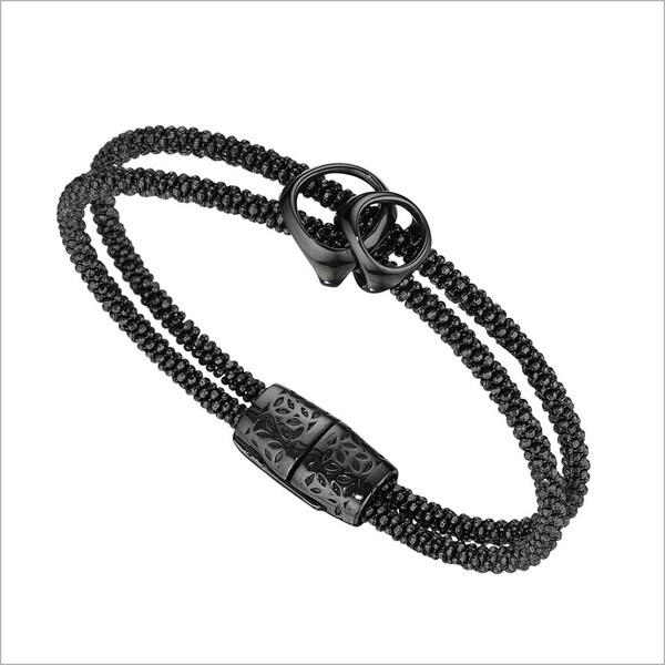 Di Modolo Black Rhodium-plated Sterling Silver Linked Bracelet