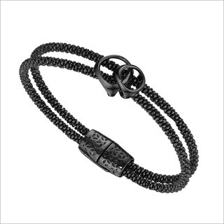 Di Modolo Black Rhodium-plated Sterling Silver Linked Bracelet