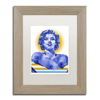 Lowell S.V. Devin 'Stairway to Marilyn' Matted Framed Art