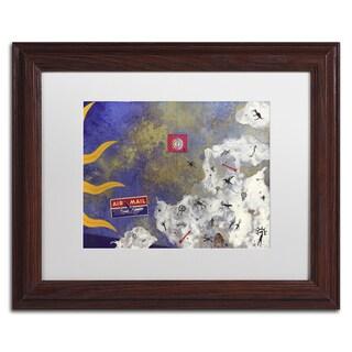 PIPA Fine Art 'Driftwood And Sandbars' Ornate Framed Art