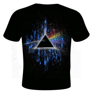 Men's Stephen Fishwick Pink Floyd 'Dark Side of the Moon' T-shirt