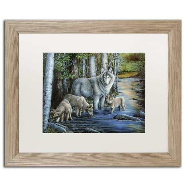 Jenny Newland 'Sealife' Matted Framed Art
