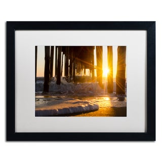 PIPA Fine Art 'Silhouettes in Sunset' Matted Framed Art