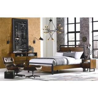 Glenwood Acacia Wood King Bed