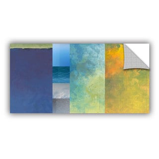 ArtAppealz Jan Weiss's 'Textured Earth Panel I' Removable Wall Art Mural