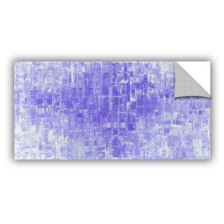 ArtAppealz Susanna Shaposhnikova's 'Purple White' Removable Wall Art Mural