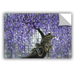 ArtAppealz Susanna Shaposhnikova's 'Purple Fairy' Removable Wall Art Mural