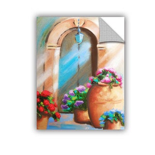 ArtAppealz Susi Franco's 'Tuscan Stoop' Removable Wall Art Mural
