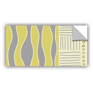 ArtAppealz Jan Weiss's 'Fabric Design I' Removable Wall Art Mural