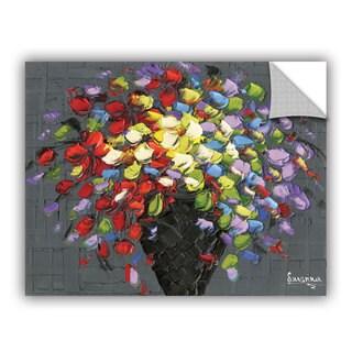 ArtAppealz Susanna Shaposhnikova's 'Multicolor Bouquet 2' Removable Wall Art Mural