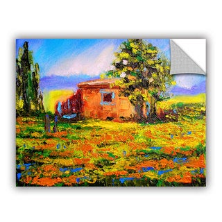ArtAppealz Susi Franco's 'Prarie Palace' Removable Wall Art Mural