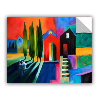 ArtAppealz Susi Franco's 'Trying to Talk Her Into It' Removable Wall Art Mural