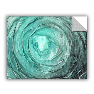 ArtAppealz Susanna Shaposhnikova's 'Greenish Blue Swirl' Removable Wall Art Mural