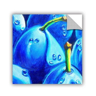 ArtAppealz Susi Franco's 'Plum Juicy Dew Drops' Removable Wall Art Mural
