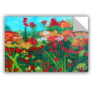 ArtAppealz Herb Dickinson's 'Cheryl's 'Garden' Removable Wall Art Mural