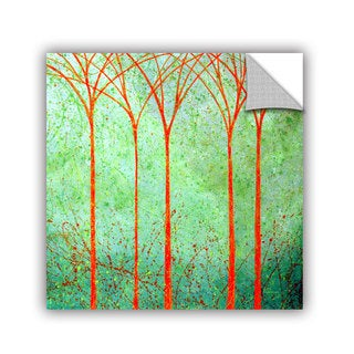 ArtAppealz Herb Dickinson's 'Apricot Forest' Removable Wall Art Mural