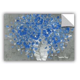 ArtAppealz Susanna Shaposhnikova's 'Blue Bouquet' Removable Wall Art Mural