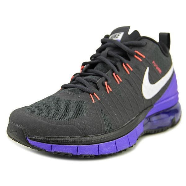 high fashion authentic quality wide varieties Shop Nike Men's 'Nike Air Max TR180' Black Synthetic ...