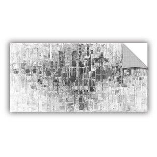 ArtAppealz Susanna Shaposhnikova's 'Black And White' Removable Wall Art Mural
