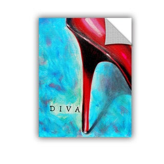 ArtAppealz Susi Franco's 'Diva' Removable Wall Art Mural