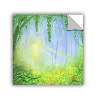 ArtAppealz Herb Dickinson's 'Morning Rays' Removable Wall Art Mural