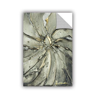 ArtAppealz Susanna Shaposhnikova's 'Black Gold Swirl' Removable Wall Art Mural