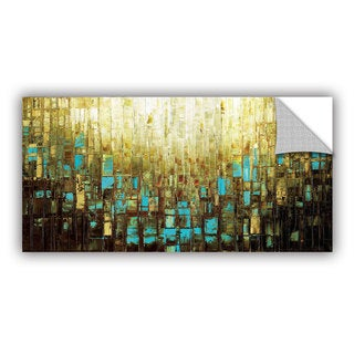 ArtAppealz Susanna Shaposhnikova's 'Abstract Neutral 2' Removable Wall Art Mural