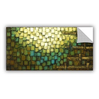 ArtAppealz Susanna Shaposhnikova's 'Abstract Neutral 1' Removable Wall Art Mural