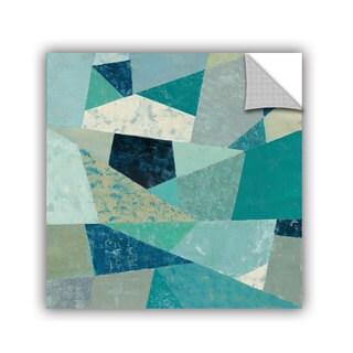 ArtAppealz Silvia Vassileva's 'Indigo Geo Metric II' Removable Wall Art Mural