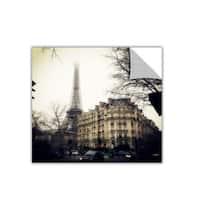 ArtAppealz Revolver Ocelot's 'Paris Vintage' Removable Wall Art Mural