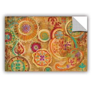 ArtAppealz Silvia Vassileva's 'Contemporary Paisley' Removable Wall Art Mural