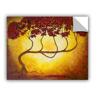 ArtAppealz Herb Dickinson's 'Ethereal Tree I' Removable Wall Art Mural