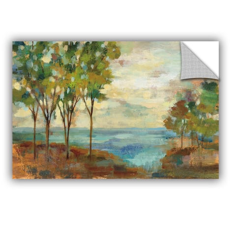 ArtAppealz Silvia Vassileva's 'View of the Lake' Removable Wall Art Mural