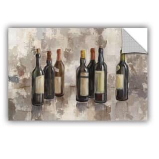 ArtAppealz Silvia Vassileva's 'Vino Marsala no Words Gray' Removable Wall Art Mural (4 options available)