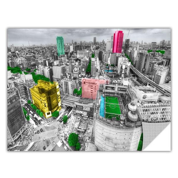 ArtAppealz Revolver Ocelot's 'Tokyo Skyline' Removable Wall Art Mural