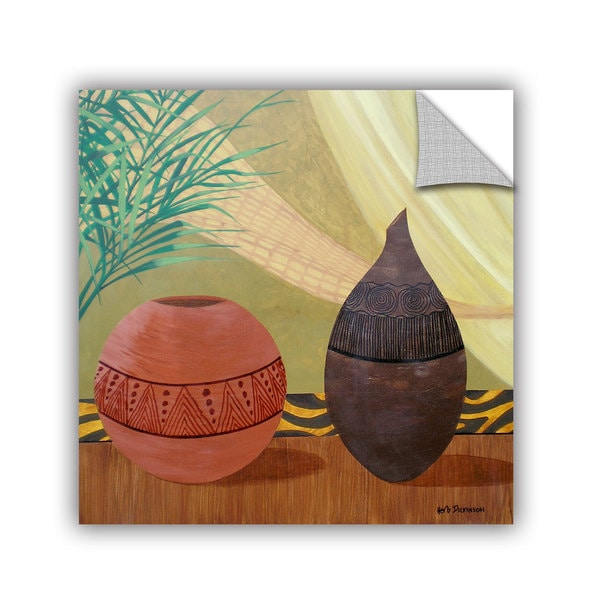ArtAppealz Herb Dickinson's 'African Style I' Removable Wall Art Mural