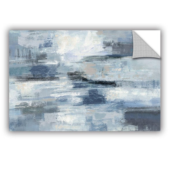 ArtAppealz Silvia Vassileva's 'Clear Water Indigo and Gray' Removable Wall Art Mural. Opens flyout.