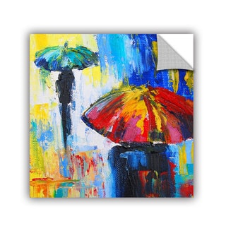 ArtAppealz Susi Franco's 'Red Umbrella' Removable Wall Art Mural