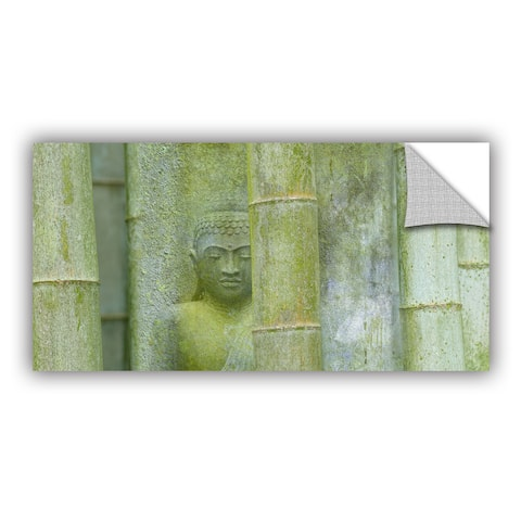 ArtAppealz Sagebrush Cora Niele's 'Bamboo Buddha Green' Removable Wall Art Mural