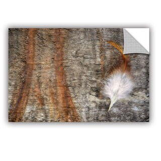 ArtAppealz Sagebrush Cora Niele's 'Rooster Feather' Removable Wall Art Mural