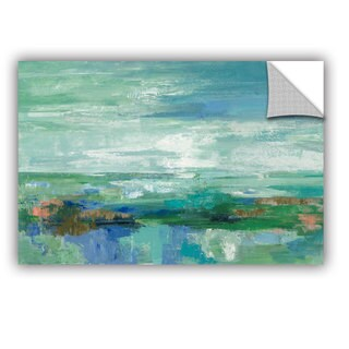 ArtAppealz Silvia Vassileva's 'Emerald Bay' Removable Wall Art Mural