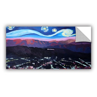 ArtAppealz Marcus/Martina Bleichner's 'Starry Night In Hollywood' Removable Wall Art Mural